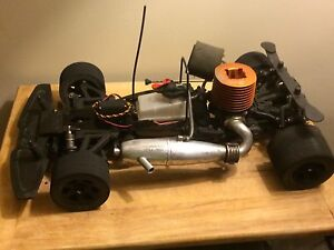 HPI 1/8 scale proceed nitro rc car