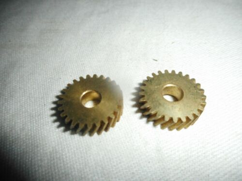 Lionel 726-125 Brass Drive Gears x 2 New Old Stock LTI Michigan Production