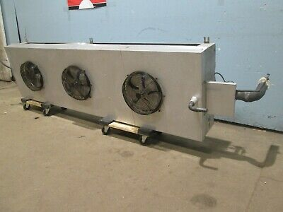 Witt Laa 975 H.d. 3 Fans 130hp 115v Walk-in Cooler Low Profile Evaporator