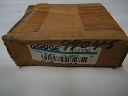 "Dodge 112176 1/3v3.65-1610 TL Sheave ""New"" OD 3.65"""