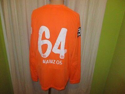 FSV Mainz 05 Original Nike Torwart Test Spieler Trikot 2014/15 + Nr.64 Gr.XL image