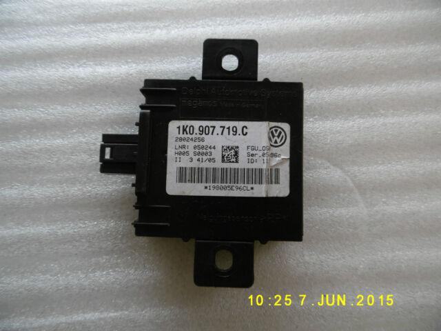 Genuine VW Golf MK5 Jetta Touran Anti Theft / Tow Control Module 1K0 907 719 C