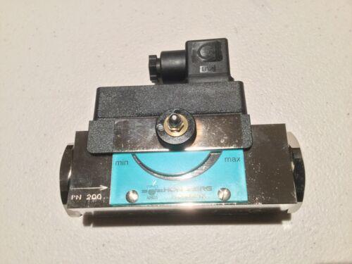 HOSCO HONSBERG NOVAFIX Flow Switch HD1K-025GM060
