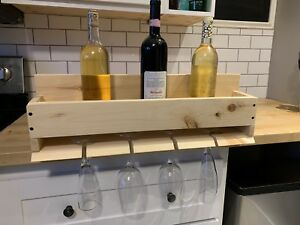 Hanging Wine and Glass Rack!