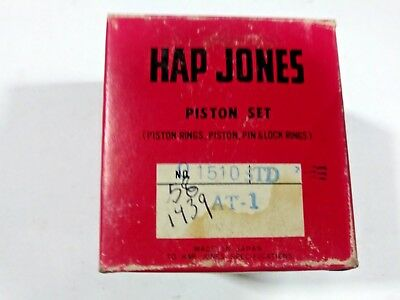 NEW Yamaha AT1 Hap Jones Piston Ring Set STD NOS 01515