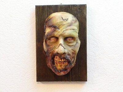 Lifesize bust 1:1 Horror bust Zombie bust TWD Halloween  Zombie Büste Zombie