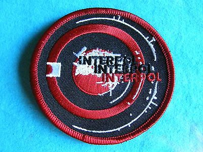 Interpol Circle 3 Inch Iron On Patch
