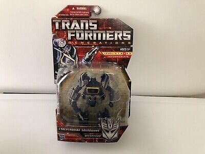 Transformers Generations Cybertronian Soundwave New