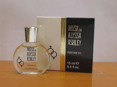 Musk By Alyssa Ashley Perfume Oil For Women 0 5 Fl Oz  15 Ml Nib  Seal