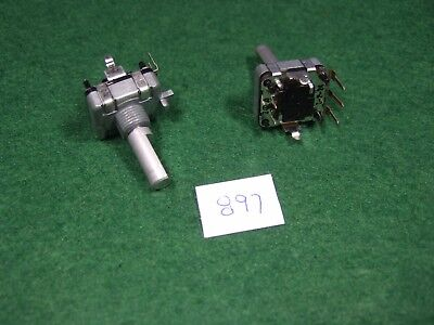 Pair Of Alps Ec16 Rotary Encoder Wswitch - New