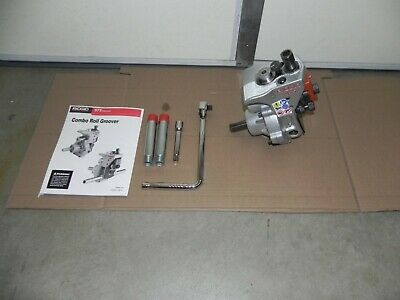 Ridgid 975 Combo Roll Groover 1-14 To 6 With Ratchet For Rigid 3001822535