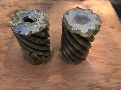 Pair Of Large Niagara Cutter Horizontal Mill Cutters 4 X 6 10 Tooth Lot 1