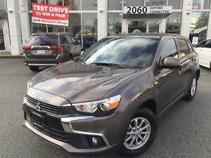 2017 Mitsubishi RVR SE, LOW KMS, AWC, HEATED SEATS, EXCELLENT FU