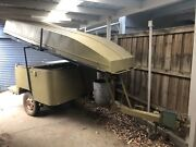 Heavy Duty Off Road Camper Trailer & 3.7m Boat & Motor Boronia Knox Area Preview