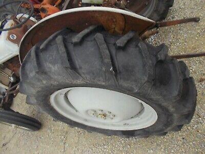 Ford 8n 9n 2n Tractor 12.4 X 28 95 Firestone Tread Tire Hat Rim Center Hub