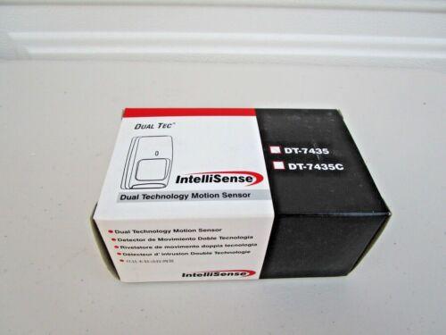 Intellisense DT-7435 Dual Tec Dual Technology Motion Sensor New Ships Free