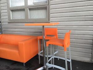 REDUCED to $30)MODERN Stool/Table Set (3 available) St Marys Penrith Area Preview