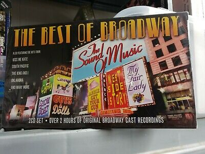 Best Of Broadway Musicals Original Cast Music Score