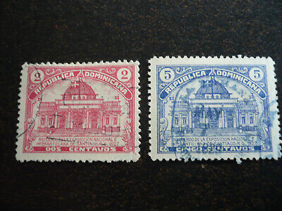 Stamps - Dominican Republic - Scott# 239-240