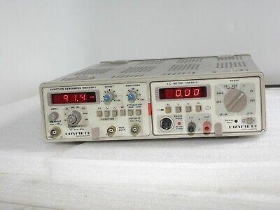 Hameg Hm8001 Dual Mainframe Hm 8018 Lc Meter Hm 8030-3 Function Generator