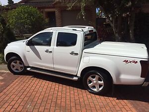 Isuzu D-Max LS-T CrewCab HiRide 4x4 3.0L Turbo Diesel MY15 Hornsby Heights Hornsby Area Preview