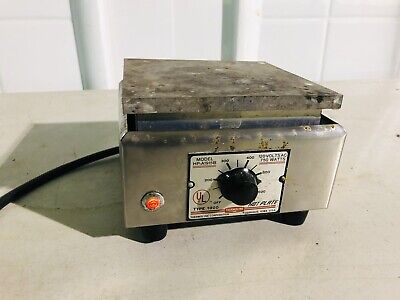 Thermolyne Hot Plate Hpa1915b Aluminum Top Type 1900 Laboratory Working