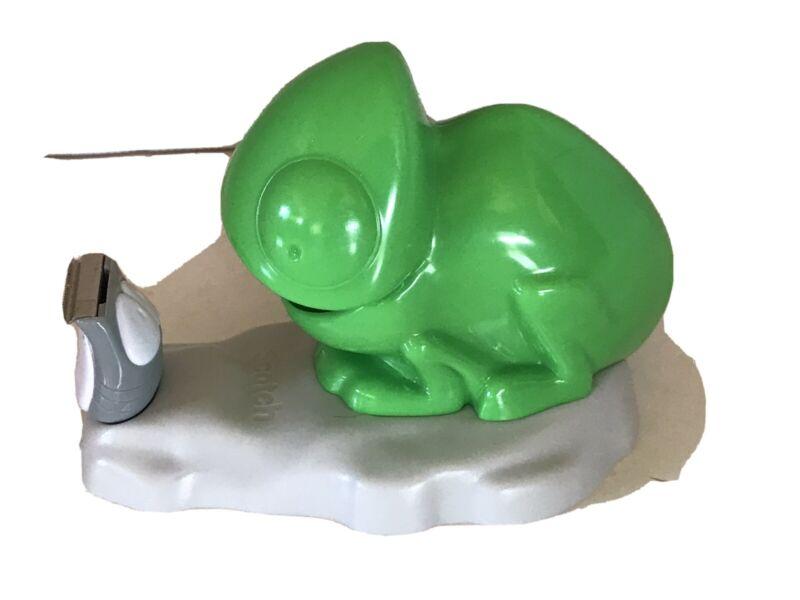 3M Scotch Expressions Magic Tape Desktop Dispenser Chameleon Color Change Lizard