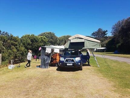 Nissan X-Trail camper for sale  Dernancourt Tea Tree Gully Area Preview