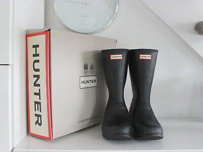 Hunter Women's Original Short Adjustable Wellington Boots size 9