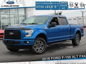 2016 Ford F-150 XLT FX4**4X4*CAMERA*BLUETOOTH*CRUISE*A/C**