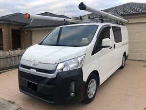 2019 MY2020 Toyota Hiace DIESEL Turbo 5 speed manual with extras.