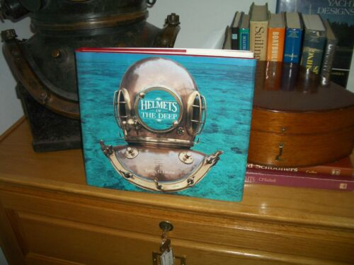 """Diving """"Helmets of the Deep"""" Leon Lyons Leather Edition Book"""
