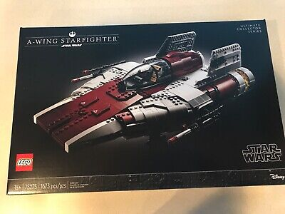 LEGO Star Wars 75275 A-Wing Starfighter Ultimate Collector Series New Sealed