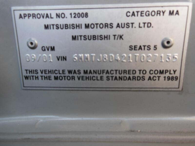 mitsubishi magna fuse box in engine bay, th-tj,3 5 ltr, petrol, auto  03/99-07/03