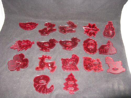 HRM Cookie Cutter Lot of 17