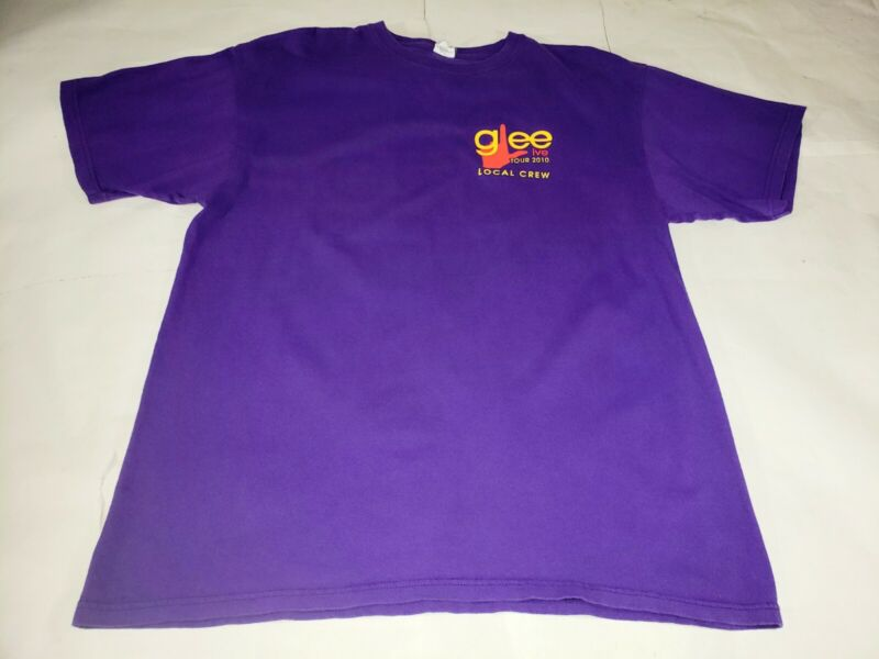 Rare Glee Live Concert Tour 2020 Local Crew Roadie Shirt Size XL