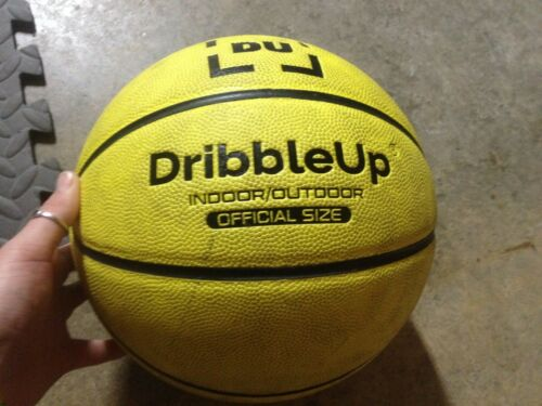 "Dribble Up Smart Basketball OFFICIAL SIZE 29.5"" BASKETBALL ONLY! Used"