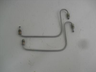 2 Stück Bremsleitung Bremsrohr für Trabant 601 radbremszylinder vorn NEU