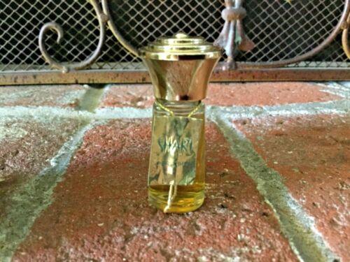 RARE VINTAGE BOTTLE SHARI PERFUME BY CARA NOMA 1 DRAM NEW FULL W/HANG TAG