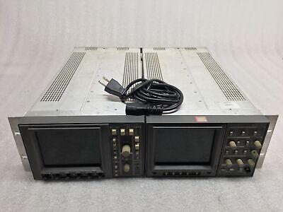 Tektronix 1740-1730 Waveform Vector Monitors Wrackmount For Partsrepair Read