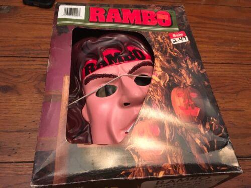 RAMBO HALLOWEEN Costume Collegeville 1986 In Box Sylvester Stallone