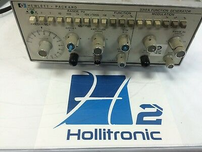 Hp 3312a Function Generator As-is Not Tested
