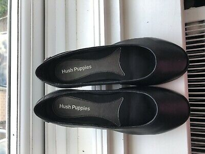 Hush puppies Black Ballerina Pumps Size 5