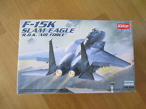 "ACADEMY 1:48 F-15K SLAM EAGLE ""R.O.K. AIR FORCE"" MODEL KIT AEREO - Italia, Italia - ACADEMY 1:48 F-15K SLAM EAGLE ""R.O.K. AIR FORCE"" MODEL KIT AEREO - Italia, Italia"