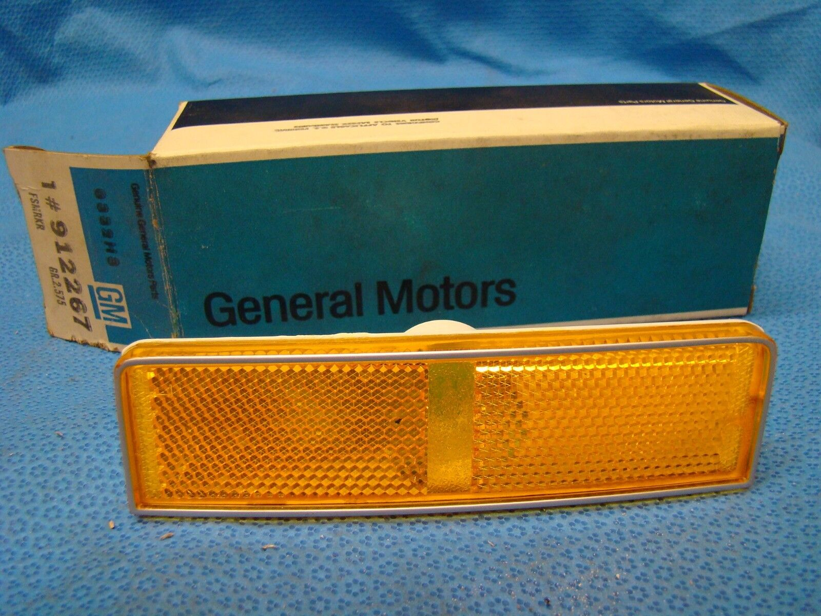 NOS 1974 Bonneville Catalina LEFT Front Marker Lamp Lens Light 912267 Genuine