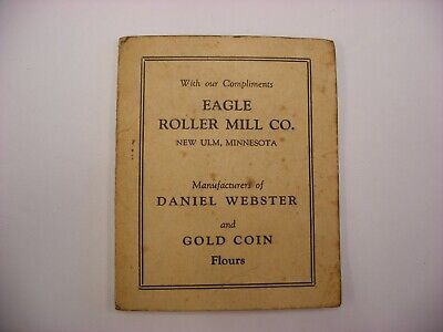 Vtg Sewing Notions Advertising Needle Packet Eagle Roller Mill Co. New Ulm MN