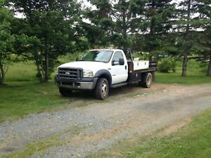 2006 F450 2WD Dually Factory deck