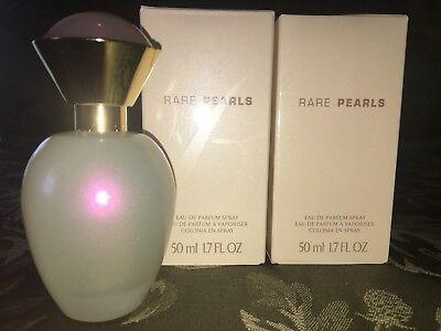 New - 2 Pack Avon Rare Pearls Perfume Spray - 1.7 fl oz - New in box X2