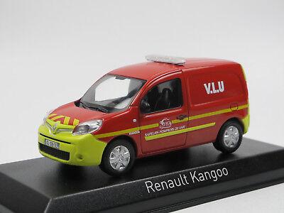 """Norev 511395 Renault Kangoo /""""Pompiers Poste de Commandement/"""" rot 2013 1:43 NEU!°"""