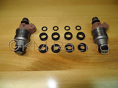 Fuel Injector Seal / O-Ring Kit for Mitsubishi Evo / Evolution Fuel Injectors